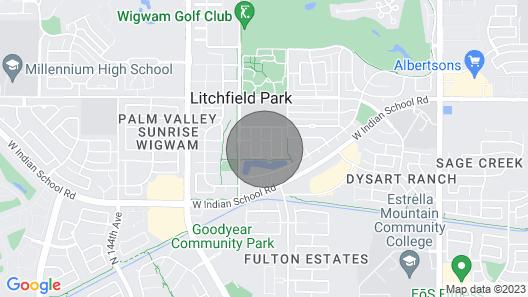 Litchfield Park Home w/ Pool - ½ Mi to The Wigwam! Map