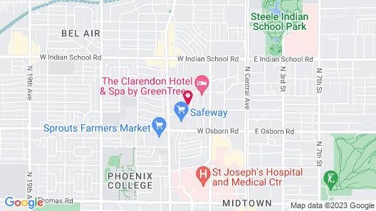 Frontdesk I Aura at Midtown Apts Phoenix Map