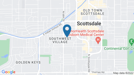 Modern Contemporary OT Scottsdale W-Pool Map
