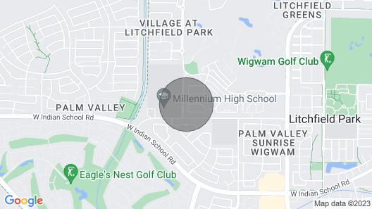 Sundance Villa - Heated Pool, Jacuzzi, Billiard - 1 Mile to Wigwam Map