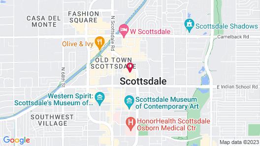Hyatt Place Scottsdale/Old Town Map