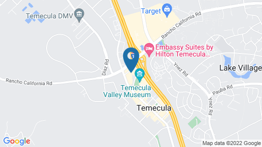 Best Western Plus Temecula Wine Country Hotel &Suites Map