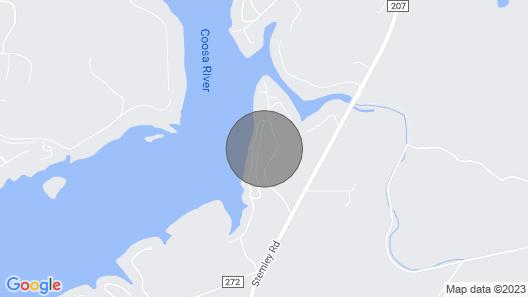 Quiet Lakeside Condo on Logan Martin Map