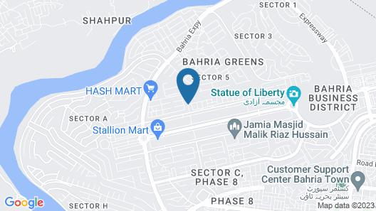 Valley View Villa Map