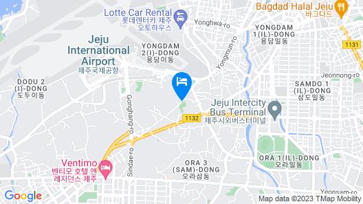 Jeju Noblesse Tourist Hotel Map