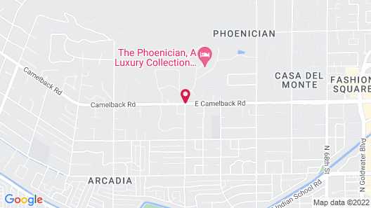 The Phoenician, a Luxury Collection Resort, Scottsdale Map