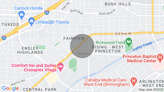 JRS Suite at The Crossplex 5 Points West Map