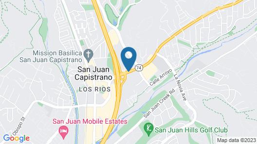 Best Western Capistrano Inn Map
