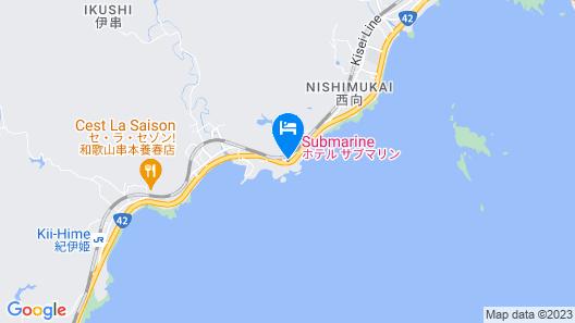 Hotel Submarine Map