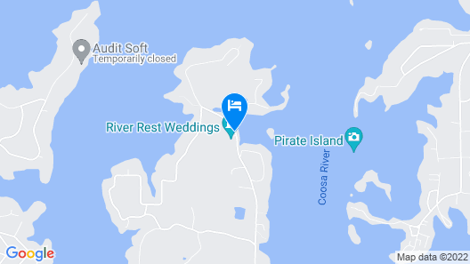 River Rest Bed and Breakfast Map