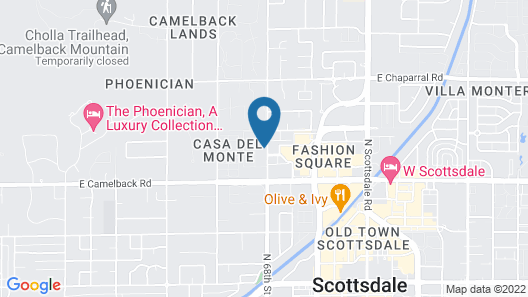 Scottsdale On 68th 2 Bedroom Condo Map
