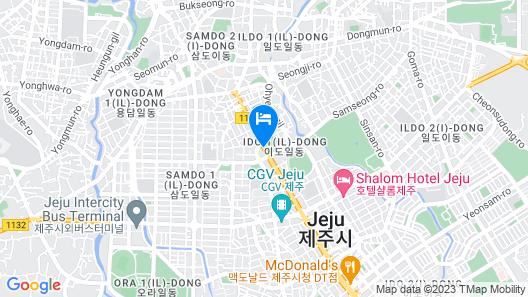 Jeju KAL Hotel Map