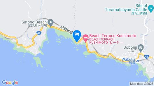 Resort Hotel & Spa Blue Mermaid Map