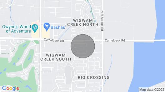 Litchfield Park Abode: 19 Mi to Downtown Phoenix! Map
