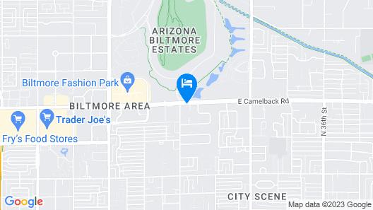 AC Hotel by Marriott Phoenix Biltmore Map