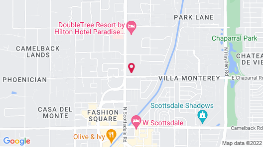 Embassy Suites by Hilton Scottsdale Resort Map