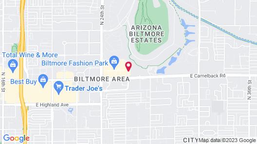 Embassy Suites Phoenix - Biltmore Map