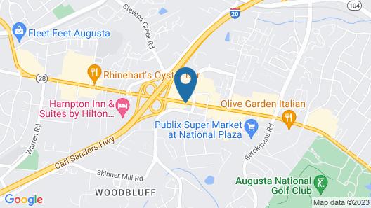 West Bank Inn Map