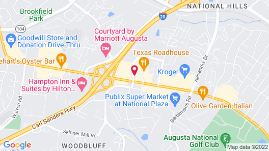 Country Inn & Suites by Radisson, Augusta at I-20, GA Map