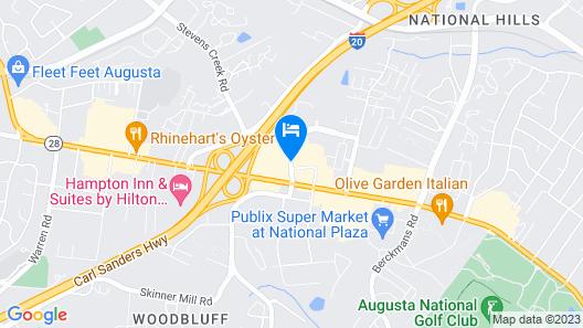 Wingate by Wyndham Augusta Washington Road Map