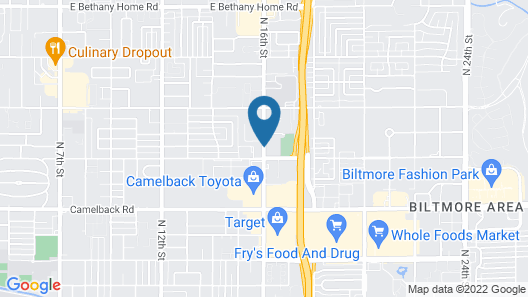 Extended Stay America - Phoenix - Biltmore Map