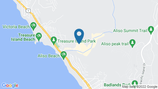 The Ranch at Laguna Beach Map