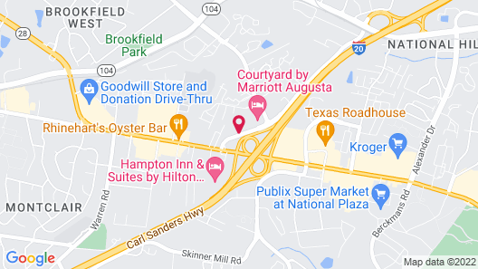 Holiday Inn Express Augusta North, an IHG Hotel Map