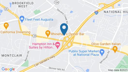 Holiday Inn Express Augusta North, an IHG Hotel Map