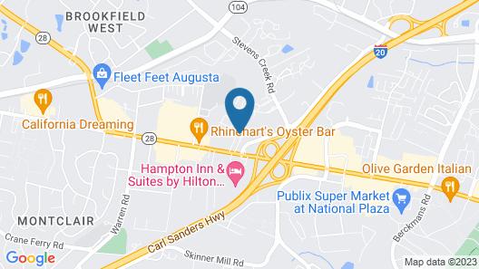 Fairfield Inn & Suites by Marriott Augusta Washington Rd./I-20 Map