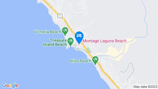Montage Laguna Beach Map