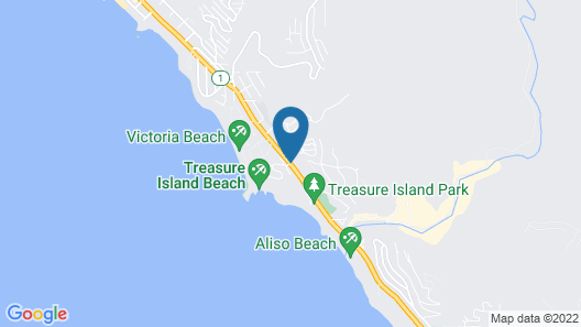 Laguna Beach Lodge Map