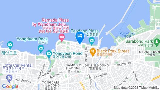 Ocean Suites Jeju Hotel Map
