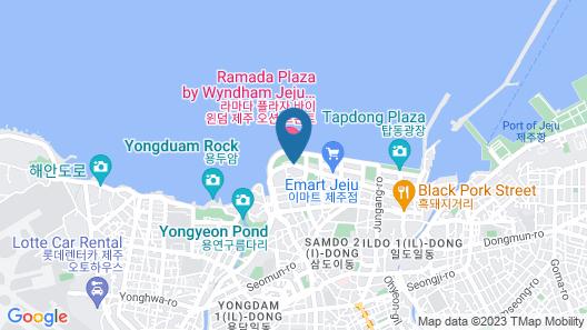 Ramada Plaza Jeju Ocean Front Map