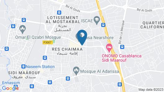 ONOMO Hotel Casablanca Sidi Maarouf Map