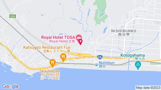 Royal Hotel TOSA Map