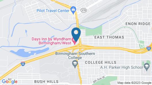 Days Inn by Wyndham Birmingham/West Map