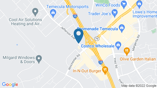 La Quinta Inn & Suites by Wyndham Temecula Map