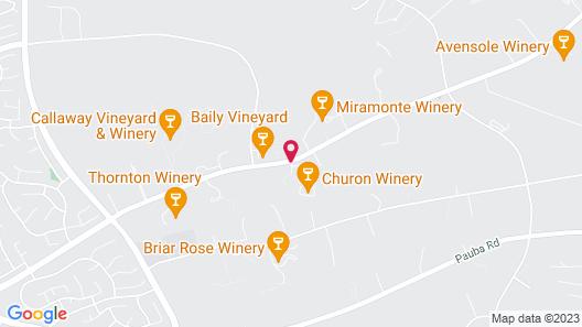 Inn at Churon Winery Map