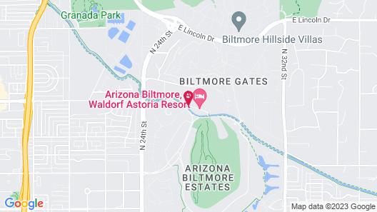 Arizona Biltmore, A Waldorf Astoria Resort Map