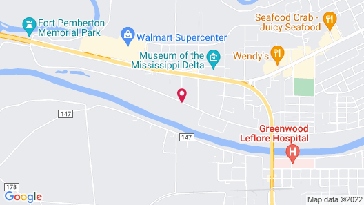 Holiday Inn Express & Suites - Greenwood Map