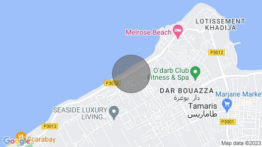 Dar Bouazza: Aika Perinteinen Huvila Merinäköalalla Map