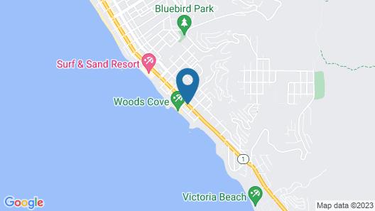 Woods Cove Inn Map