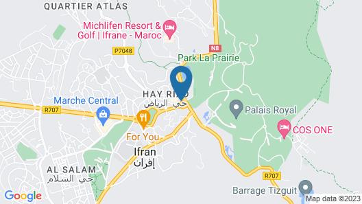Le Chamonix Map