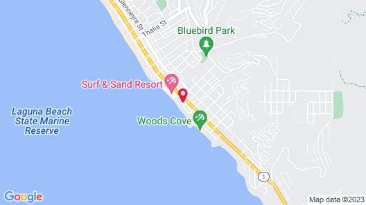 Seaside Laguna Inn & Suites Hotel Map