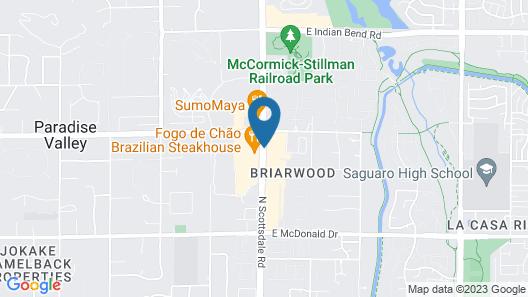 Hilton Scottsdale Resort & Villas Map