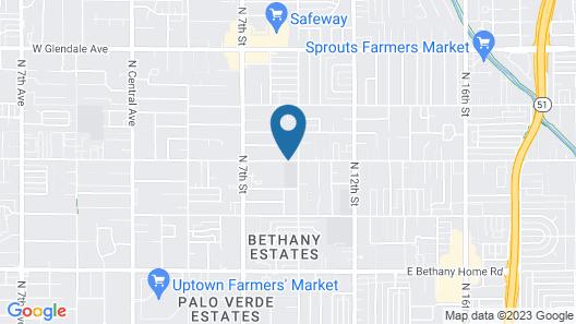 ZenYard Guest House Map