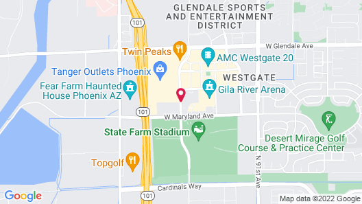 Home2 Suites by Hilton Glendale - Westgate Map