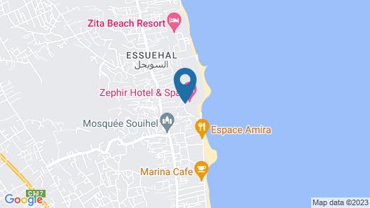 Zephir Hotel & Spa Map