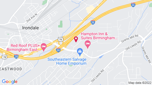 Holiday Inn Express Hotel & Suites Birmingham-Irondale(East), an IHG Hotel Map