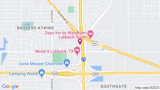 La Quinta Inn & Suites by Wyndham Lubbock South Map